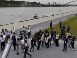 olympia 2020: sie schießen mit schneekanonen auf die hitze