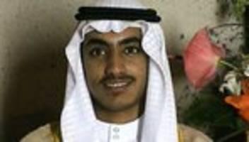 al-kaida: us-regierung bestätigt tod von hamsa bin laden
