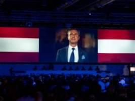 fpÖ-parteitag in graz: auf dem programm: wiederauferstehung