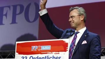 Parteitag in Graz: Hofer soll Strache als Chef der FPÖ beerben
