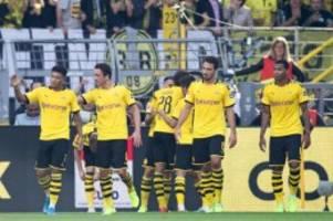 4. Spieltag: BVB schlägt Leverkusen deutlich - Gladbach gewinnt imDerby