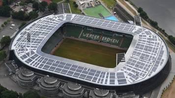 Deutscher Solarpreis für Solarmodule auf Weser-Stadion
