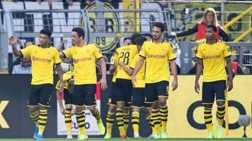 4. Spieltag: BVB schlägt Leverkusen deutlich - Gladbach gewinnt im Derby