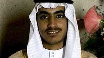 Anti-Terror-Einsatz: Weißes Haus bestätigt Tod von Osama bin Ladens Sohn