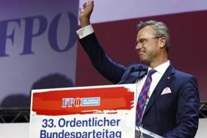 Österreich: norbert hofer übernimmt führung der fpÖ