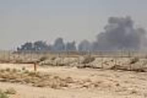 Attacke auf Öl-Anlagen - Nach verheerendem Drohnen-Angriff drosseln die Saudis 50 Prozent ihrer Öl-Produktion