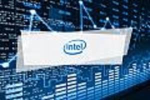 Intel-Aktie Aktuell - Intel fällt mit 0,9 Prozent gering
