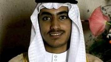 Anti-Terror-Einsatz: USA melden Tod von Bin-Laden-Sohn Hamza