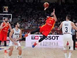 sport: spaniens basketballer krönen sich zum weltmeister