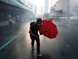Wieder ein Demo-Sonntag: Hongkonger bleiben auf der Straße