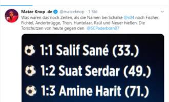 so hab ich's doch gar nicht gemeint: matze knop kassiert shitstorm für angeblich rassistischen tweet über schalke-spielernamen