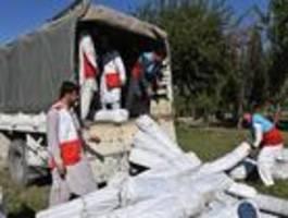 rotes kreuz nimmt einsatz in afghanistan wieder auf