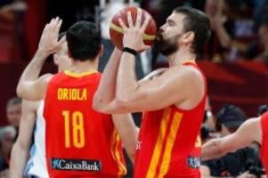 basketball: spanien ist weltmeister – gasol schreibt geschichte