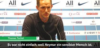 """Tuchel - """"Neymar kann noch besser spielen"""""""
