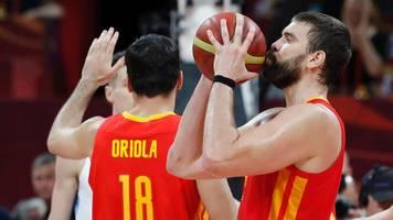 basketball-wm: spanien zerlegt argentinien und holt den titel