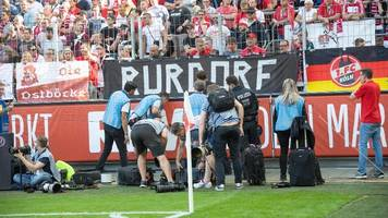 Köln vs. Gladbach: Böses Blut nach Böllerwurf im Derby