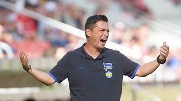 Niederlage in Mainz - Hertha-Coach nun als Krisenmanager: Müssen zusammenrücken
