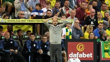 Premier League - Glückwunsch an Norwich: Man City patzt bei Aufsteiger
