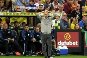 Glückwunsch an Norwich: Man City patzt bei Aufsteiger
