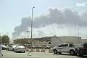 Ölförderung drastisch reduziert - Nach Anschlag auf Saudi-Ölanlage: Autofahrer müssen wohl viel höhere Benzinpreise zahlen