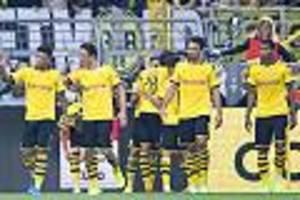 champions league - bvb schießt sich gegen leverkusen warm - doch jetzt wartet der fc barcelona
