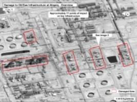 Drohnenangriffe auf Ölanlagen: Saudi-Arabien: Waffen stammen aus Iran