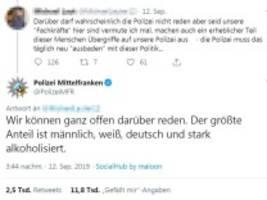 rechte stimmungsmache: der @polizistdesjahres kommt aus nürnberg