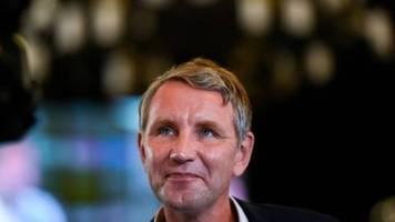 Höcke bricht Interview mit ZDF ab und droht mit massiven Konsequenzen