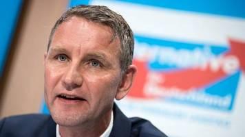 Eklat um Björn Höcke: Abgebrochenes ZDF-Interview belegt: Man kann nicht AfD wählen, ohne Neonazis zu wählen