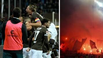 2. Fußball-Bundesliga: Furioser Fußballabend am Millerntor: St. Pauli triumphiert im Hamburger Stadtderby