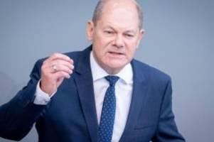 Ansage an Deutschlands Banken: Scholz: Strafzinsen für Sparer wären schlechter Einfall