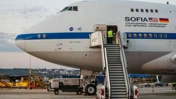 Fliegende Sternwarte Sofia auf Stuttgarter Flughafen gelandet