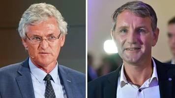 Gespräch mit Björn Höcke: Wollten keinen Eklat – das sagt der ZDF-Chefredakteur zum Interviewabbruch