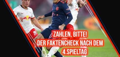 Der Bundesliga-Check nach dem vierten Spieltag