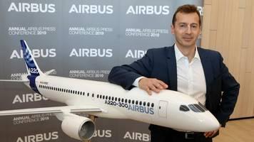 Handelskrieg: Airbus-Chef Faury warnt vor drohenden Flugzeugzöllen