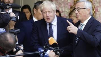 Treffen mit Juncker - Johnson ohne neue Vorschläge: Kein Ende des Brexit-Alptraums