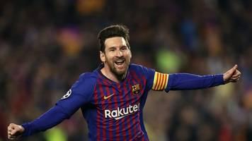 champions league: messi trainiert wieder mit barça