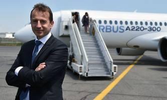 Airbus-Chef Faury warnt vor drohenden Flugzeugzöllen