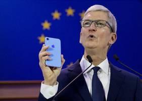 apple und eu-kommission streiten vor gericht um 13 milliarden euro