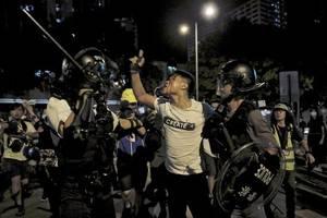ein weiteres wochenende der gewalt in hongkong