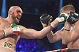 Boxen - Tyson Fury gewinnt blutige Schlacht gegen Wallin