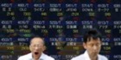 börse tokio zieht gut behauptet ins wochenende