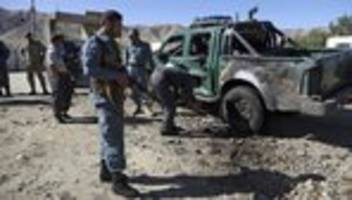 Selbstmordattentat: Fast 50 Tote bei Anschlägen in Afghanistan