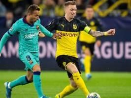 BVB scheitert an ter Stegen: Dominante Dortmunder vergeben Sieg gegen Barça