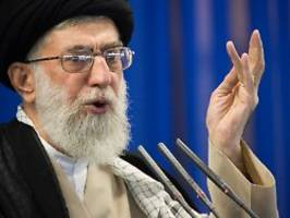 Vor UN-Versammlung in New York: Chamenei: Iran will USA nicht direkt treffen