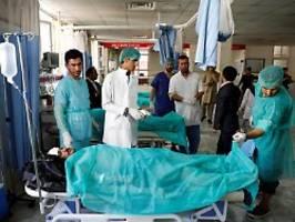 zwei anschläge aus rache an usa?: taliban töten fast 50 menschen