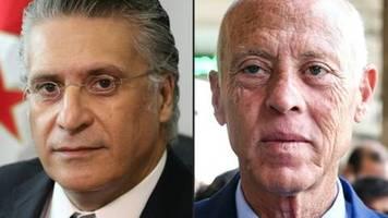 ergebnis der ersten runde der präsidentenwahl in tunesien erwartet