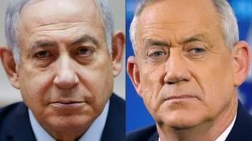 gantz fordert bei parlamentswahl in israel netanjahu heraus