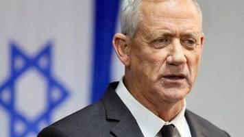 Porträt: Ex-Militärchef Gantz will als Mann der Mitte überzeugen