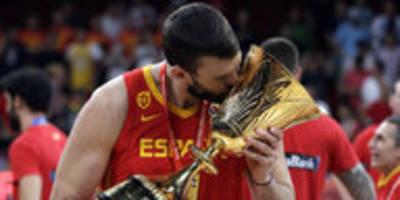 Basketball-WM in China: Schrecklich erfolgreiche Familie